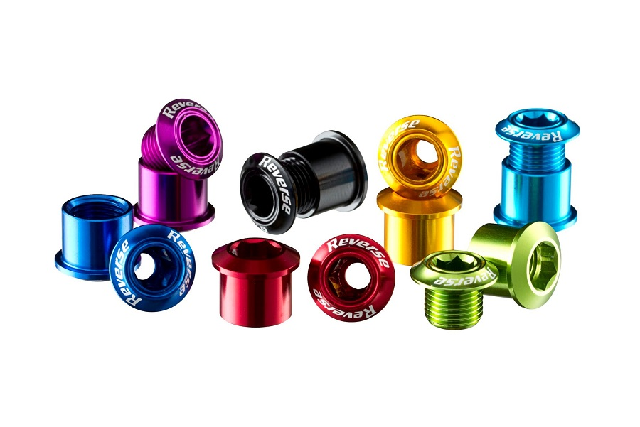 12 Reverse Chainring Bolts Color Overview