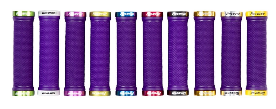 12 Reverse Grips Lock On Color Overview purple