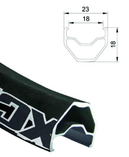 XCR Super Comp mit Zeichnung