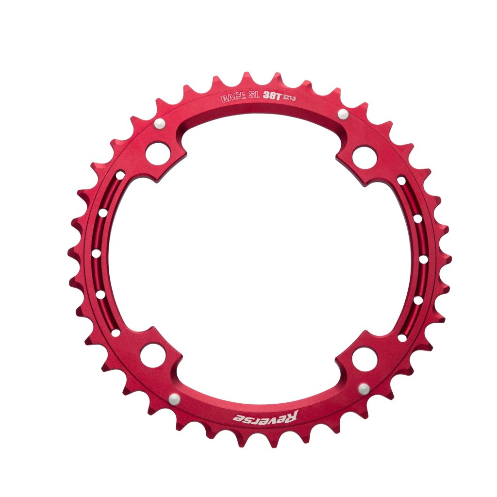 12 Reverse Chainring Race SL 2×10 38T red