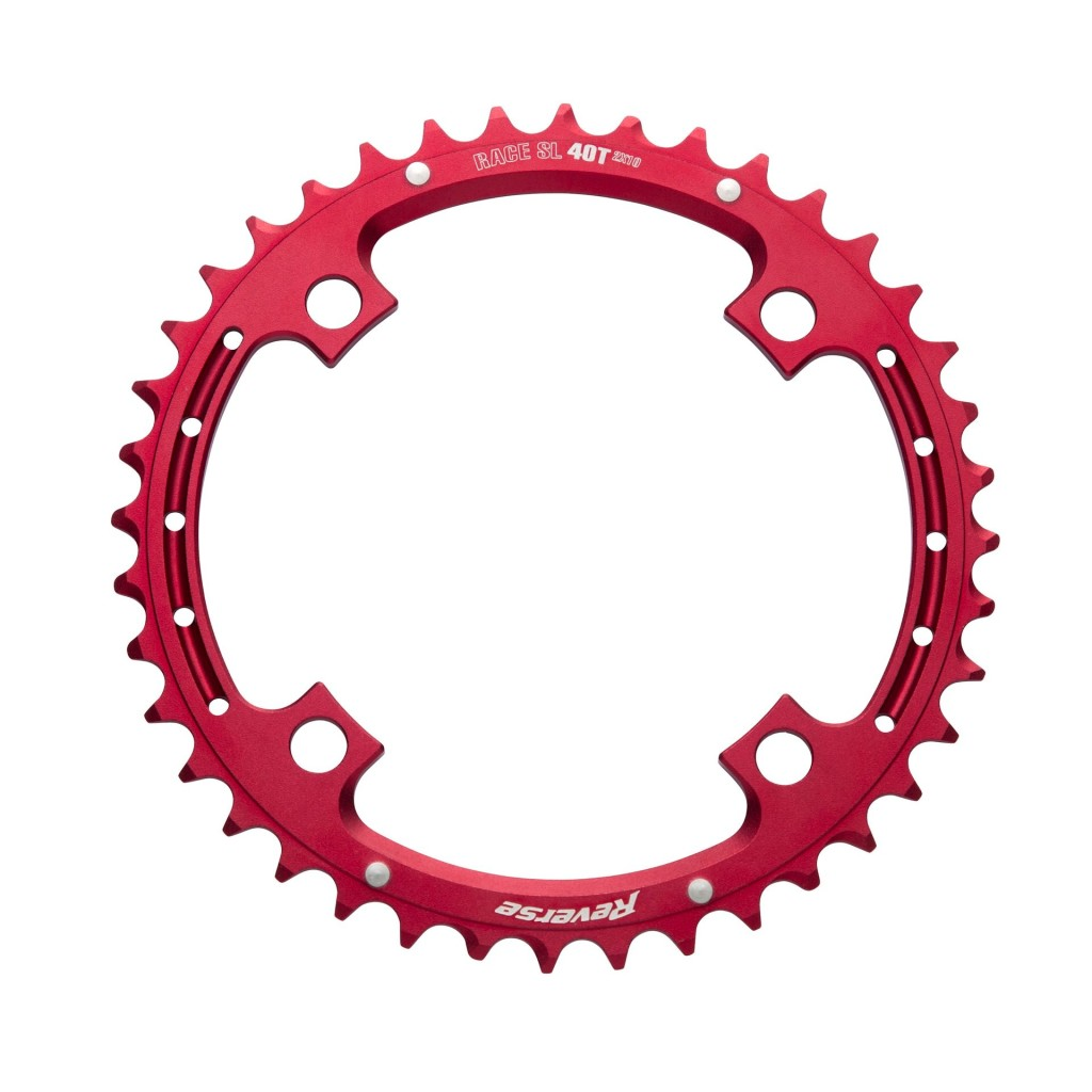 12 Reverse Chainring Race SL 2×10 40T red
