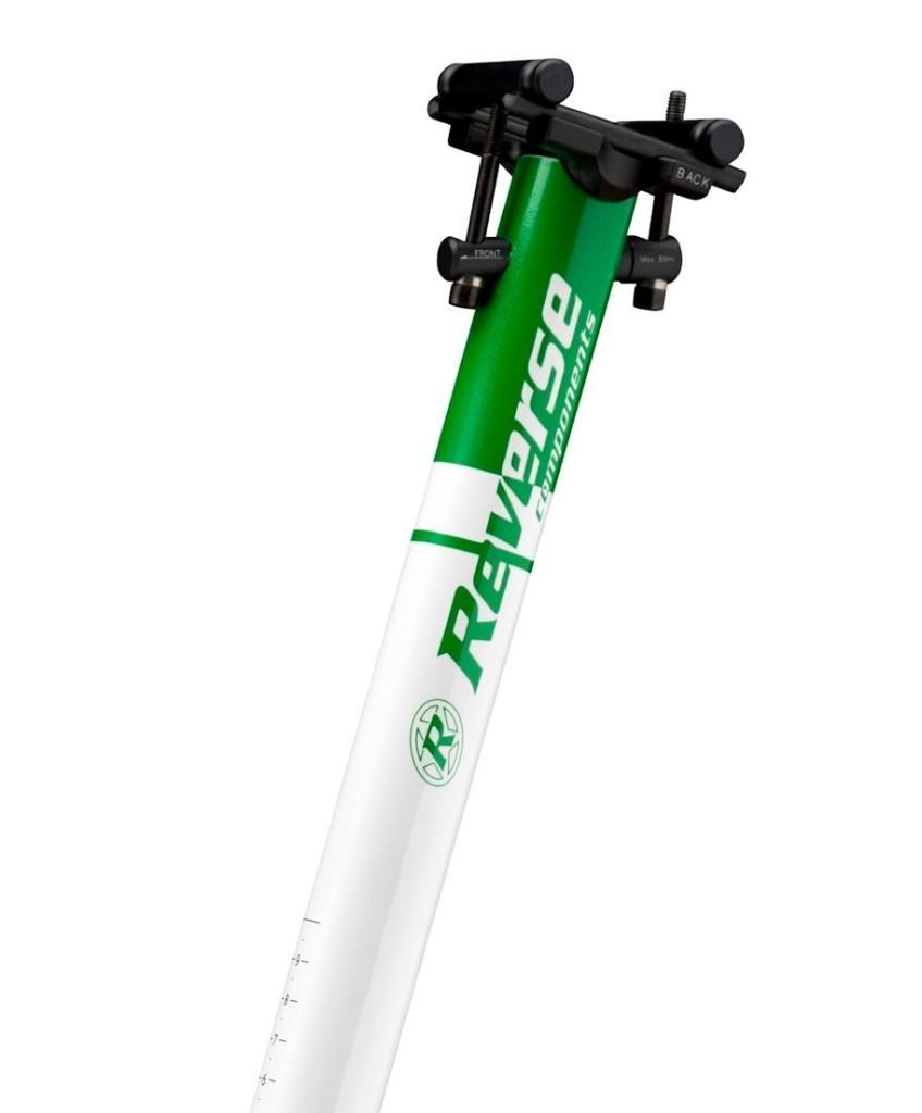 12 Reverse Seatpost Style white-green_klein